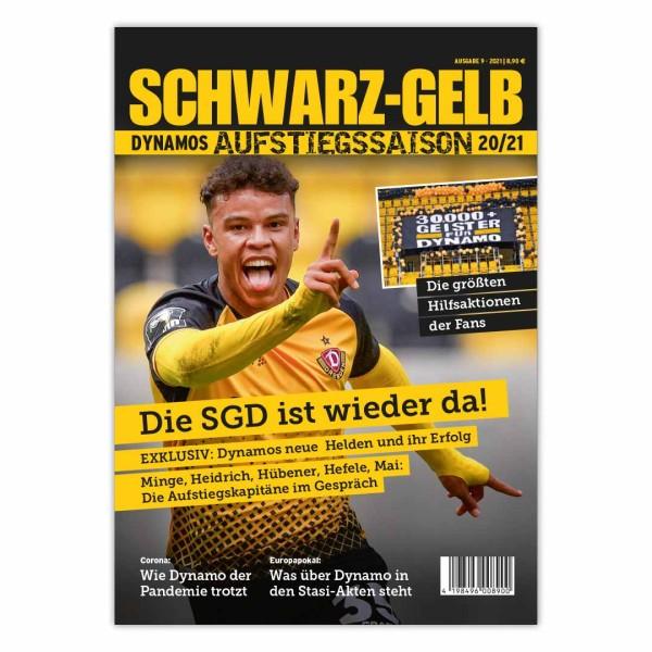 Dynamo-Saisonmagazin Schwarz-Gelb 20/21